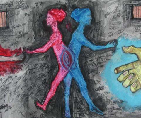 of 2 minds ~FS~Mixed Media~
